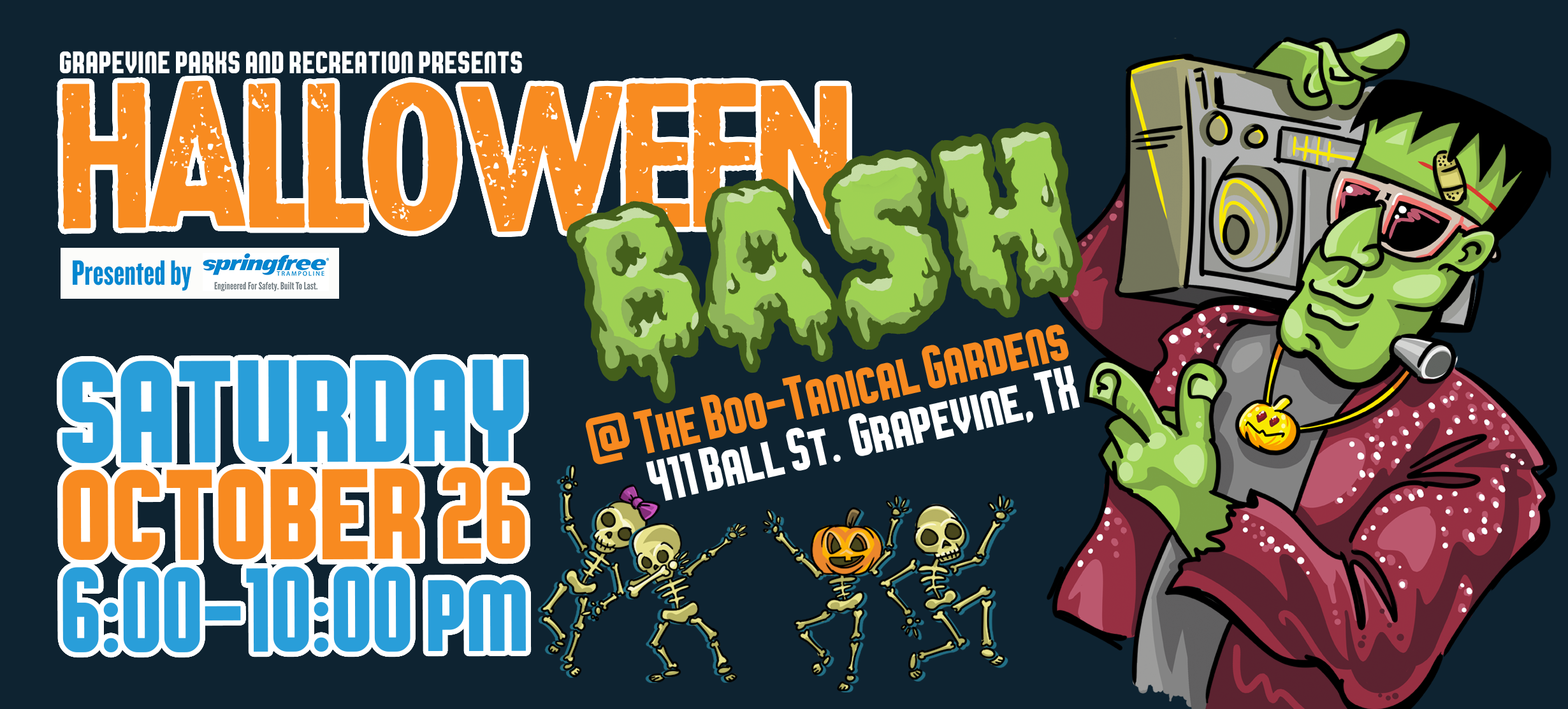Halloween Bash at the BOO-tanical Gardens – October 26, 2019 – ADULT