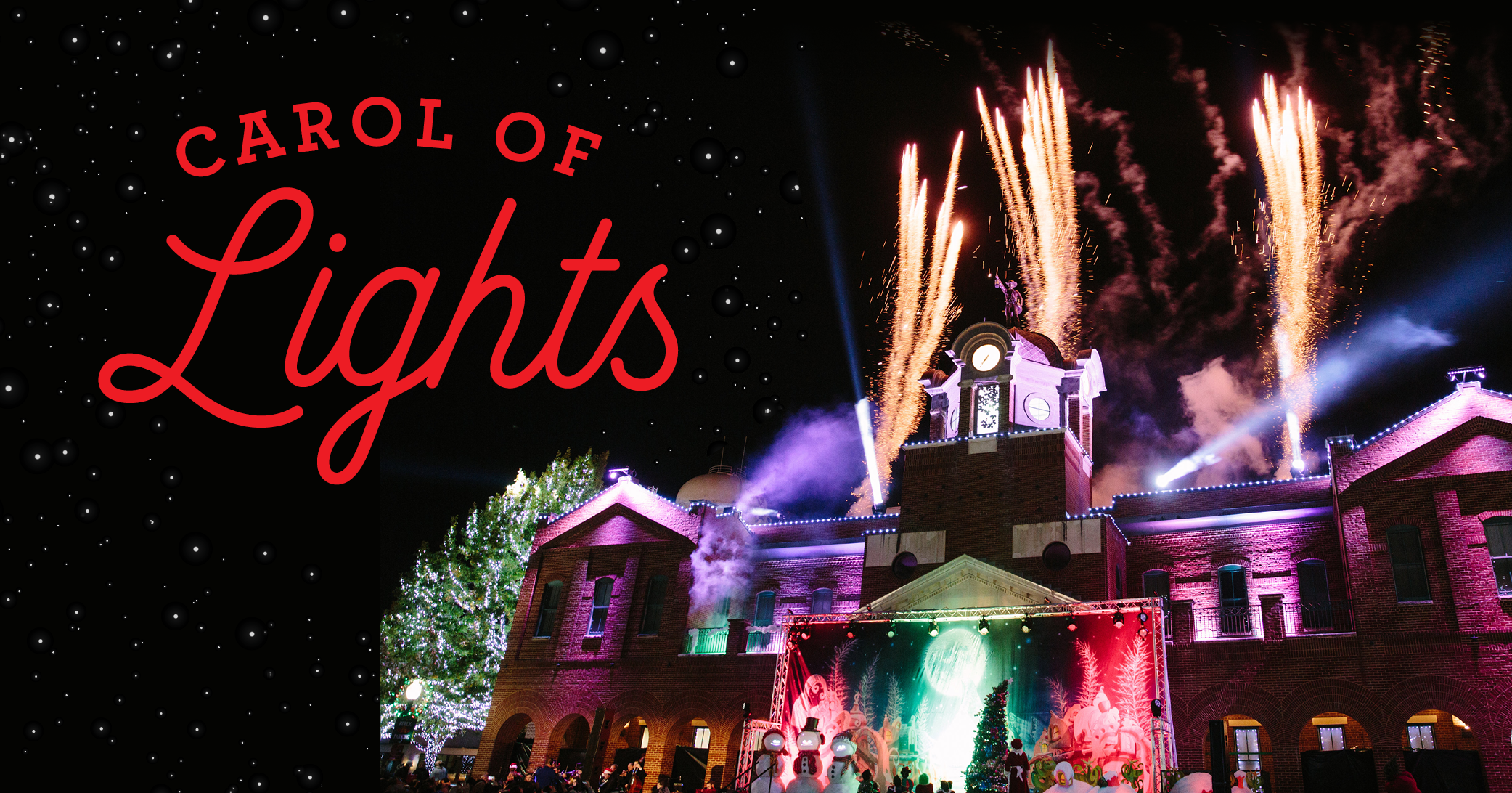Carol of Lights Reserved Seating – Section EE